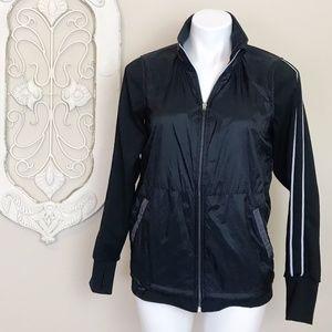 Tangerine | Black White Track Zip Jacket S